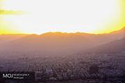 کیفیت هوای تهران ۲۹ فروردین ۹۹/ شاخص کیفیت هوا به ۶۲ رسید