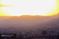 کیفیت هوای تهران ۱۲ آبان ۹۹/ شاخص کیفیت هوا به ۹۹ رسید