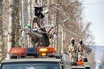 انهدام مقر تروریست ها در جدار و آن سوی مرز توسط سپاه پاسداران