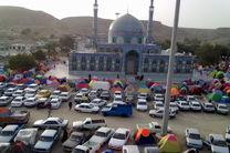 حضور بیش از ۱۰۰ هزار مسافر نوروزی در مرقد امامزاده سید سلطان محمد رودان