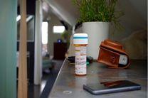 ظرف هوشمندی که خوردن داروها را یادآوری میکند