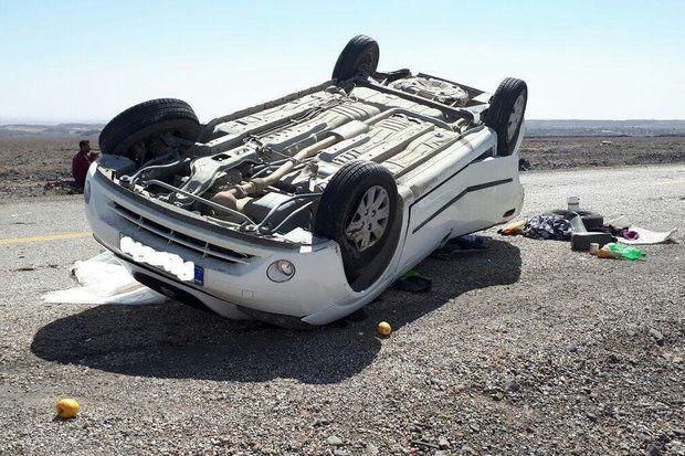 2 کشته در اثر واژگونی پژو پارس در اصفهان