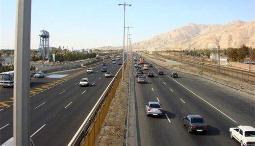 راه های ورودی و خروجی شهر تهران مسدود شد