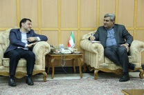استاندار گیلان  با معاون برنامه و امور اقتصادی وزارت نیرو دیدار کرد