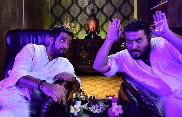 محسن کیایی و پژمان جمشیدی در یک فیلم کمدی