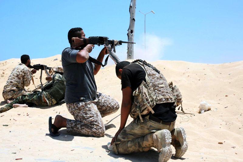 حمله داعش به ارتش لیبی