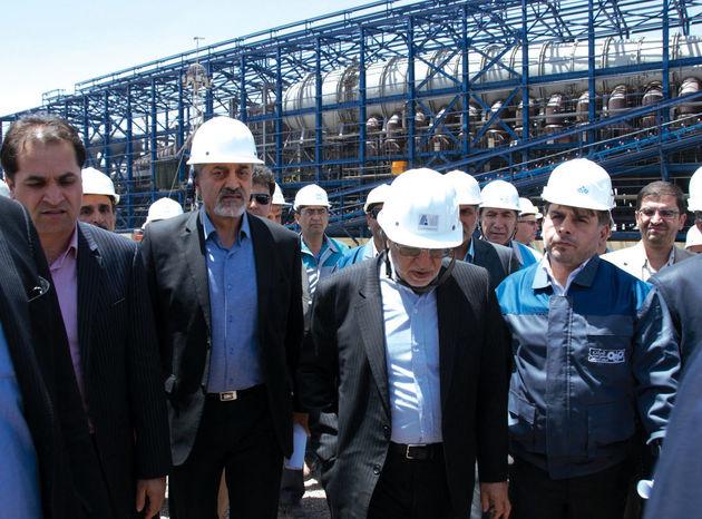 بهره برداری از اولین و بزرگترین گندله سازی شرق کشور در سنگان خراسان رضوی