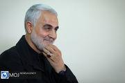 پیکر سردار قاسم سلیمانی با عبای نماز شب رهبر انقلاب خاکسپاری می شود