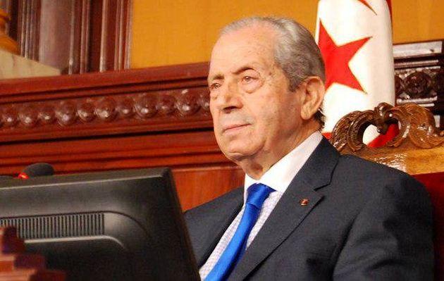 پیام تسلیت رئیس مجلس تونس به علی لاریجانی