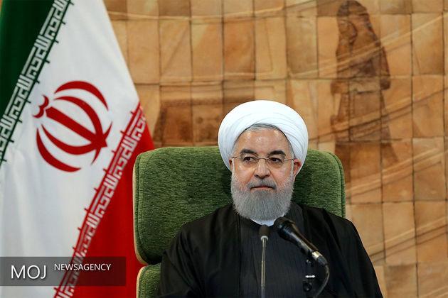 روحانی وارد تهران شد