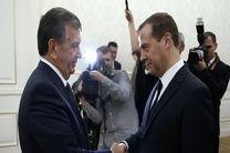 روسیه و ازبکستان بر گسترش روابط دو جانبه تأکید کرند