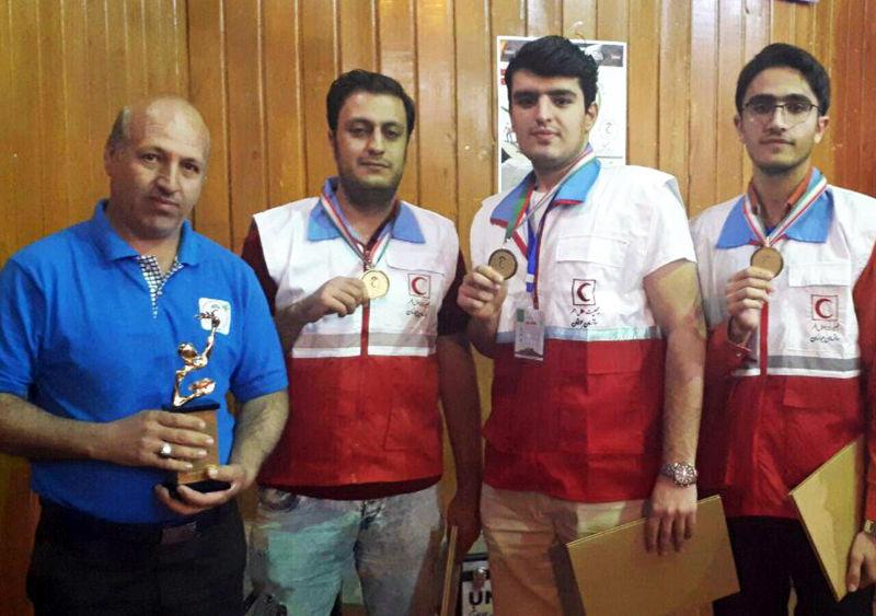 تیم جوانان هلال احمر لرستان قهرمان مسابقات رفاقت مهر کشور شد