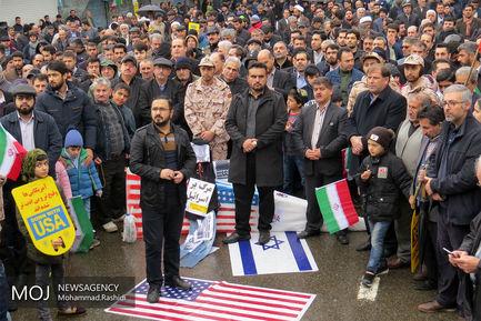 جشن چهلمین سال انقلاب در آستارا