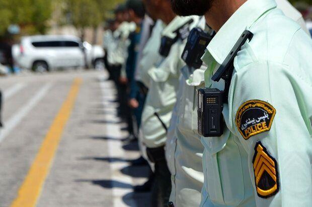 جلوگیری از هرگونه تردد خارج استانی به داخل یزد توسط پلیس راه