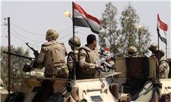 ۳ کشته و 6 زخمی در حمله به خودروی زرهی مصر در سینا