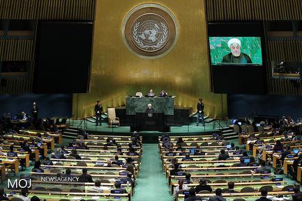 دیدارهای روز سوم رییس جمهوری در مقر سازمان ملل