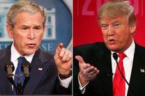 ترامپ: ورود به خاورمیانه بزرگترین اشتباه جرج  بوش بود