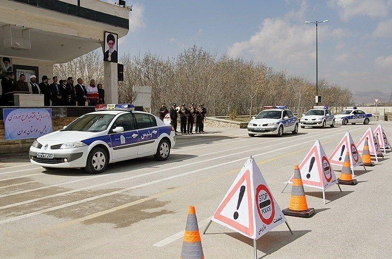 آغاز طرح نوروزی تامین امنیت جاده ای پلیس راه در اردبیل
