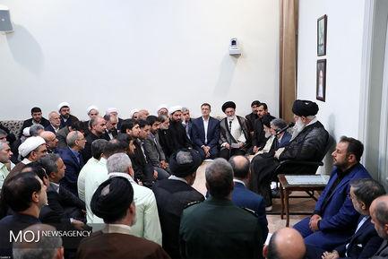 دیدار دستاندرکاران حج ۹۷ با مقام معظم رهبری