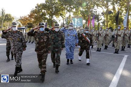 اختتامیه رزم مقدماتی مشترک دانشجویان افسری ارتش