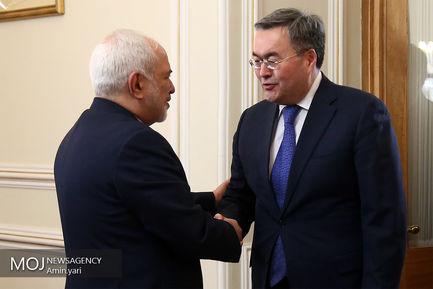 دیدار معاون وزیر امور خارجه قزاقستان با ظریف