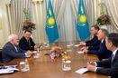 ظریف با رییس جمهور قزاقستان دیدار کرد