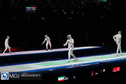 المپیک توکیو رقابت های شمشیر بازی و بوکس