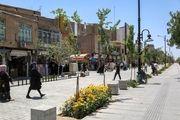 رونده بهره برداری از پروژه های شهری کرمانشاه بازدید شد