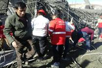 فرو ریختن ساختمانی در یاسوج / دو کارگر زیر آوار ماندهاند