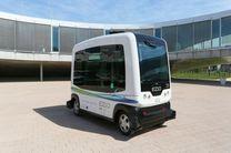 اتوبوس بدون راننده در هلند رانندگی کرد