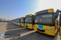 آمادگی ناوگان اتوبوسرانی تهران در صورت بازگشایی مدارس