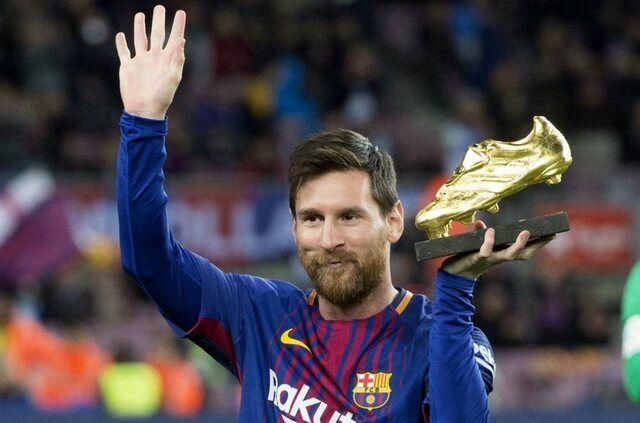 مسی مجددا برنده کفش طلای اروپا شد