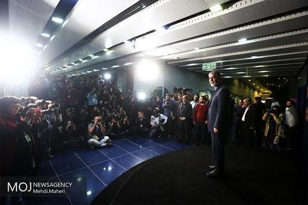 بازدید وزیر فرهنگ از سینمای رسانه جشنواره فیلم فجر