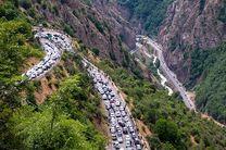 ترافیک نیمه سنگین در محورهای هراز و چالوس