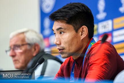 نشست خبری مارچلو لیپی سرمربی تیم ملی فوتبال چین