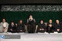 آخرین شب عزاداری حضرت اباعبدالله الحسین (ع) با حضور مقام معظم رهبری