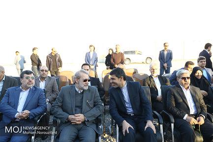 دومین روز سفر رییس مجلس به استان هرمزگان