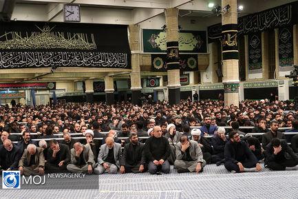 اولین شب عزاداری امام حسین (ع) با حضور مقام معظم رهبری