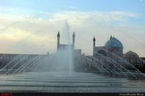 کیفیت هوای اصفهان امروز ناسالم است