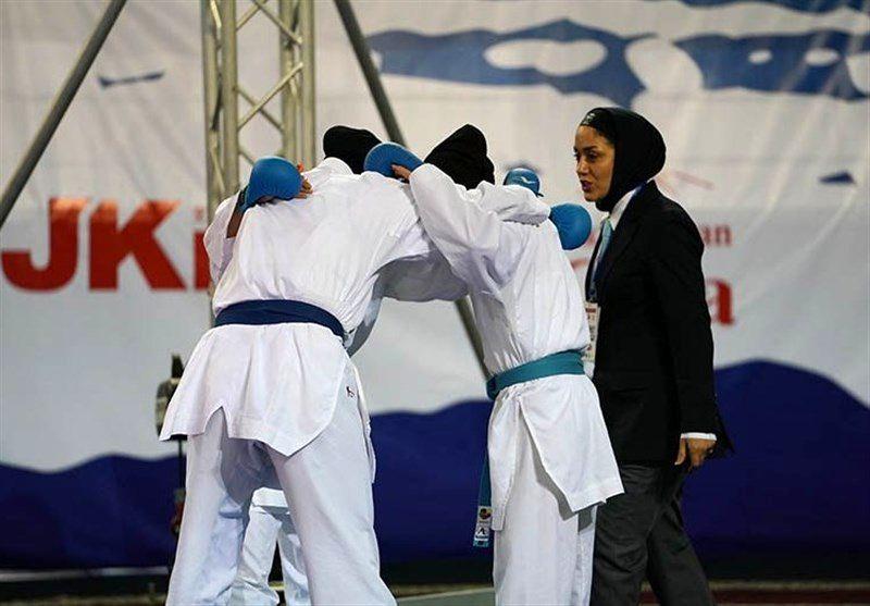 پایان رقابتهای کاراته وان پاریس/ یک مدال برنز برای تیم ملی کاراته بانوان