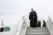 روحانی تهران را به مقصد مسقط ترک کرد