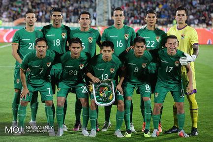دیدار دوستانه تیم های فوتبال ایران و بولیوی/عکس تیمی بولیوی