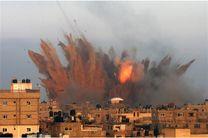 حملات رژیم صهیونیستی به نوار غزه ادامه دار شد