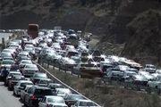 حجم ترافیک سنگین در جاده هراز و فیروزکوه