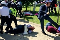 محافظان اردوغان به معترضان حمله نکنند