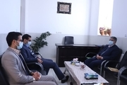 بررسی و ارزیابی دادگاه عمومی بخش نیر توسط رییس دادگستری یزد
