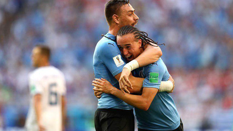 نتیجه بازی اروگوئه و روسیه در جام جهانی/ صعود اروگوئه به عنوان صدرنشین