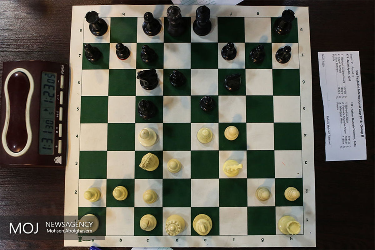 ثبت نام مجدد انتخابات فدراسیون شطرنج پایان یافت