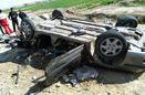واژگونی خودرو سمند در محور لردگان 1 کشته برجای گذاشت