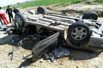واژگونی خودروی ۴۰۵ در کردکوی ۴ مصدوم برجای گذاشت